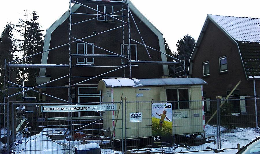 Randewijk Beter Wonen bouwt verduurzaamt een woning in Bennekom