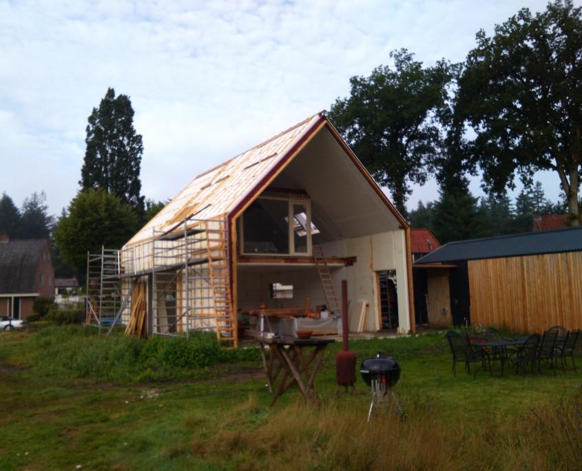 Vrijstaande EPS woning wordt gebouwd in Autserlitz
